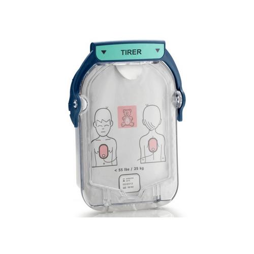 Philips Heartstart HS1 Cartouche électrodes pédiatriques