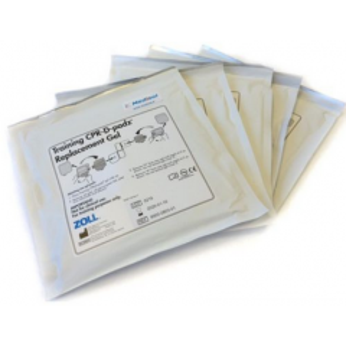 Patchs adhésifs pour électrodes de formation Zoll