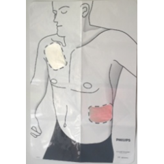 Philips HeartStart Trainer poster torse adulte