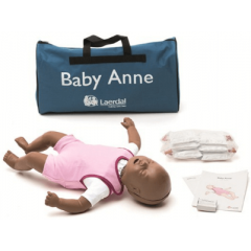 LAERDAL BABY ANNE MANNEQUIN (VERSION NOIRE)