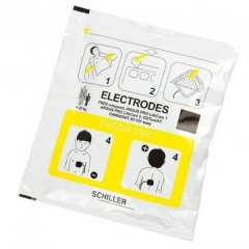 Electrodes enfants pour Schiller FRED PA-1