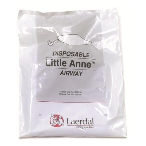 Laerdal Little Anne QCPR voies respiratoires jetables (24 pièces)