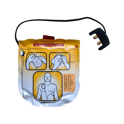 Defibtech Lifeline View électrodes adulte